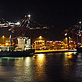Shipyards 2 Callao Port Lima Peru by Kurt Van Wagner