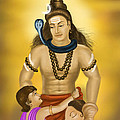 Shiva Family.  by Mayur Sharma