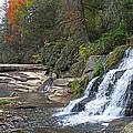Shoal Creek Area Waterfalls by Duane McCullough