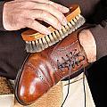 Shoe Polisher by Joe Belanger