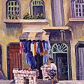 Shoe Seller by Richard Marshall