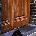 Shoes At Door by Mark Goebel