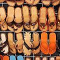 Shoes Shoes Everywhere Playa Del Carmen Mexico by Lee Vanderwalker