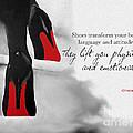 Shoes Transform You by Rebecca Jenkins
