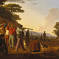 Shooting For The Beef by George Caleb Bingham