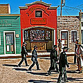 Shootout At The Ok Corral In Tombstone-arizona by Ruth Hager