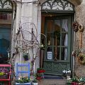 Shop Entrance Historic District by Christiane Schulze Art And Photography