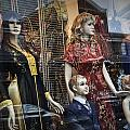 Shop Window Display Of Mannequins by Randall Nyhof