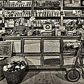 Shopping At The General Store by Priscilla Burgers