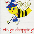 Shopping Bee Gilda by Christy Woodland