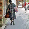 Shopping Day On Dargan Street by Suzanne Muldrow