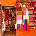 Shopping In San Miguel De Allende by Lindley Johnson