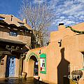 Shops At Santa Fe New Mexico by Jason O Watson