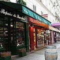 Shops On Rue Cler by Sue Lorenz