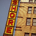 Shore Building Sign - Coney Island by Jim Zahniser