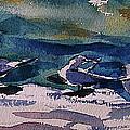 Shoreline Birds Iv by Julianne Felton