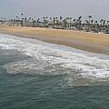 Shoreline Newport Beach by Phyllis Tarlow