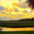 Shoreline Sunset 3 by Sheri McLeroy