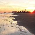 Shoreline Sunset by Eric  Schiabor
