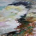Shores Of Half Moon Bay by Edward Wolverton