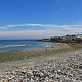 Short Sands Beach York Maine 2 by Michael Saunders
