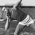 Shot Putter Parry O'brien by Underwood Archives