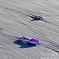 Pink Toy Spade by Steven Ralser