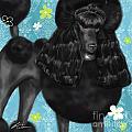 Show Dog Poodle by Shari Warren