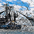Shrimp Boat by Michael Walzak