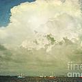Shrimp Boats Headed Out by Joan McCool