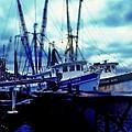 Shrimp Boats by Rodney Lee Williams