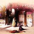 Shrine Of The Nativity Bethlehem April 6th 1839 by Munir Alawi