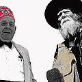 Shriner And Tombstone Slim Tombstone Arizona  by David Lee Guss