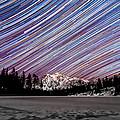 Shuksan Past Midnight by Ryan McGinnis