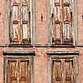 Four Wooden Shutters by Roy Pedersen