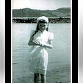 Shy Girl With New Easter Dress by Barbara Griffin
