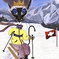 Siamese Queen Of Switzerland by Jamie Frier