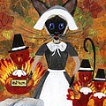 Siamese Queen Of Thanksgiving by Jamie Frier