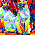 Siamese Sweethearts by Sherry Shipley
