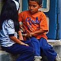Sibling Rivalry - Loja - Ecuador by Julia Springer