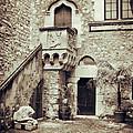 Sicilian Palace Courtyard by Silvia Ganora