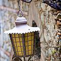 Sicilian Village Lamp by David Smith