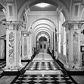 Side Hall Off The Main Entrance Belfast City Hall Built In 1906 County Antrim Northern Ireland by Joe Fox