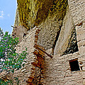 Side Window In Spruce Tree House On Chapin Mesa In Mesa Verde National Park-colorado  by Ruth Hager