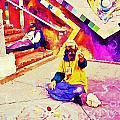 Sidewalk Artist in Haight-Ashbury