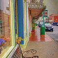 Sidewalk Shot Weston Missouri by Liane Wright
