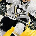 Sidney Crosby Artwork by Sheraz A