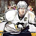 Sidney Crosby by Dave Olsen