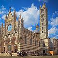 Siena Duomo by Inge Johnsson