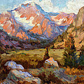 Sierra Nevada Mountains by Diane McClary